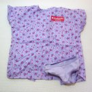 "American Girl Purple Doll Hospital Gown for 18"" Dolls"
