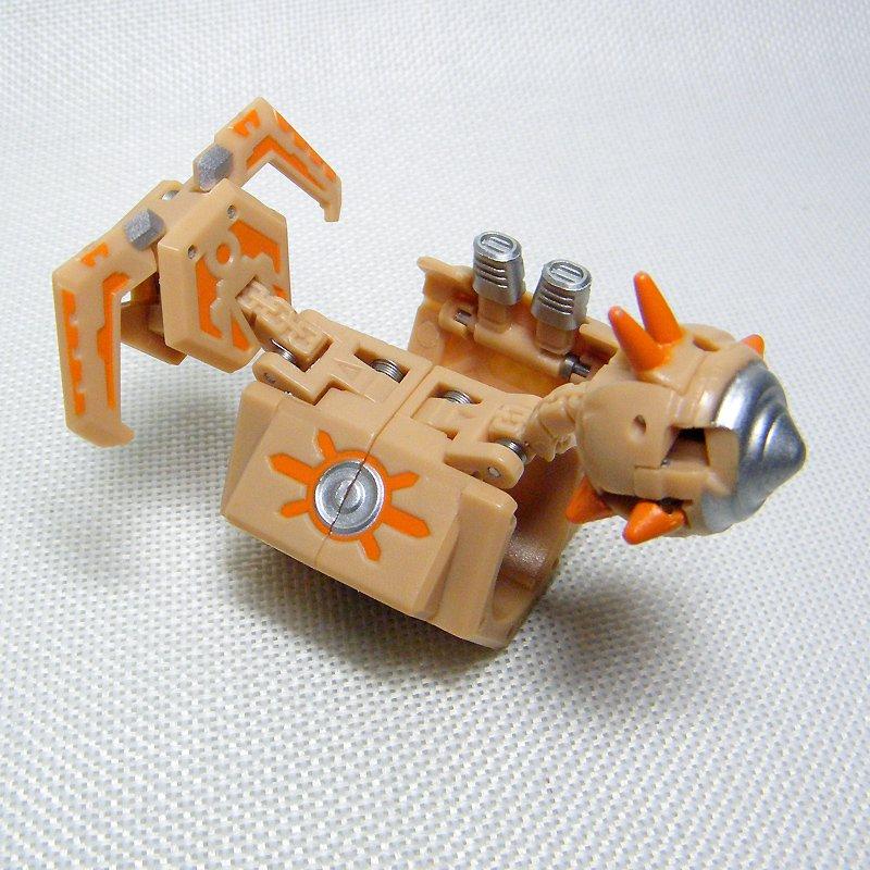 Bakugan ROCK HAMMER Tan Silver Battle Gear Gundalian Invaders 60G DNA