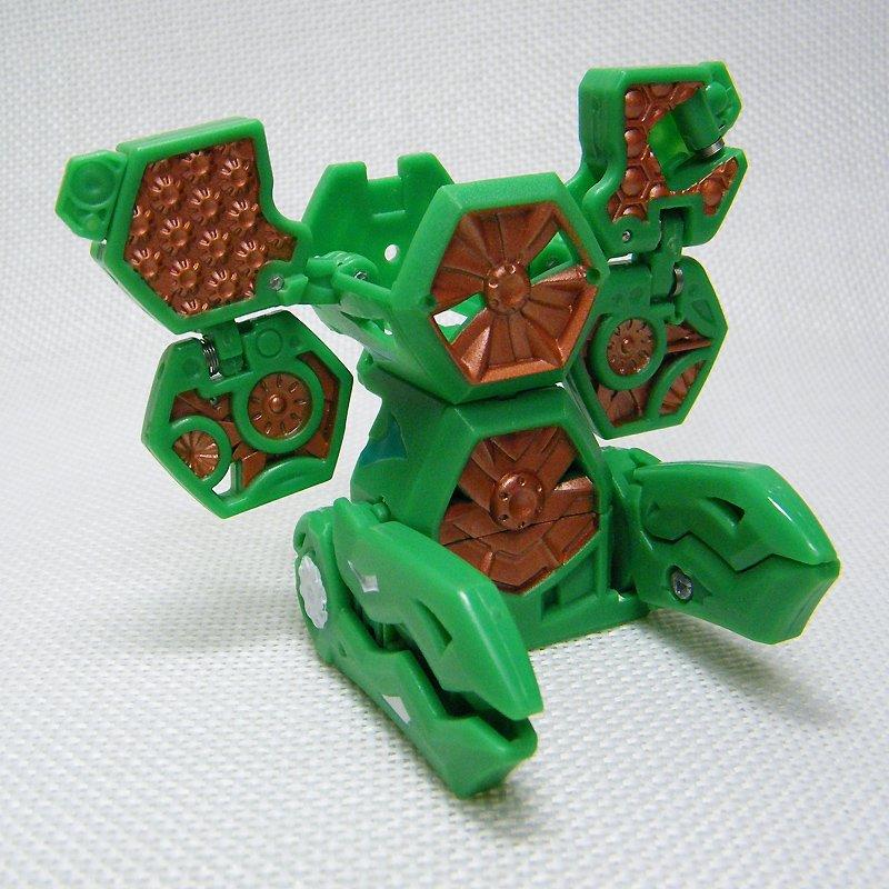 Bakugan BATTLE TURBINE Green Gold Battle Gear Gundalian Invaders DNA 70G