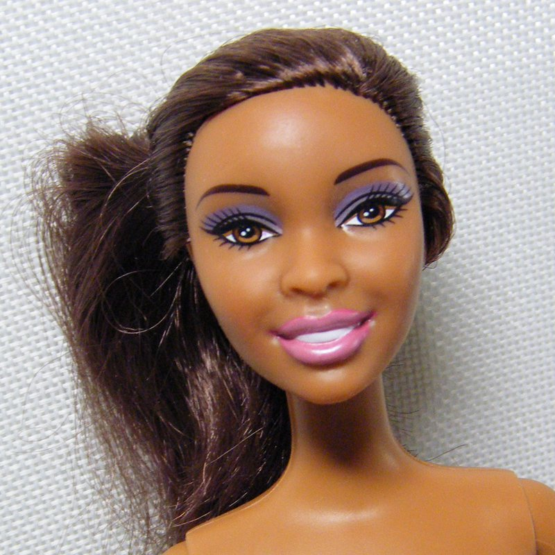 Barbie Doll NIKKI Hybrid Nutmeg Brown Brunette AA Nude for OOAK Display Play