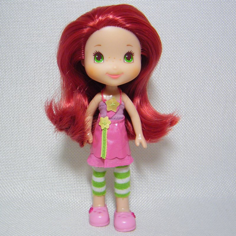 Strawberry Shortcake STRAWBERRY Scented Doll Berry Best 2011 Hasbro OOP Retired