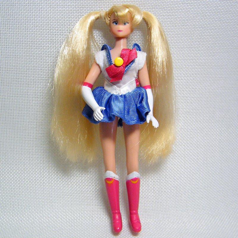 """Sailor Moon SAILOR MOON 6.5"""" Adventure Doll Rare Boots Version 1995 Irwin"""