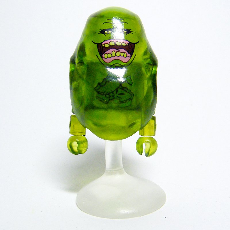 Ghostbusters Minimates CLEAR SLIMER Variant Ghost with Food in Belly