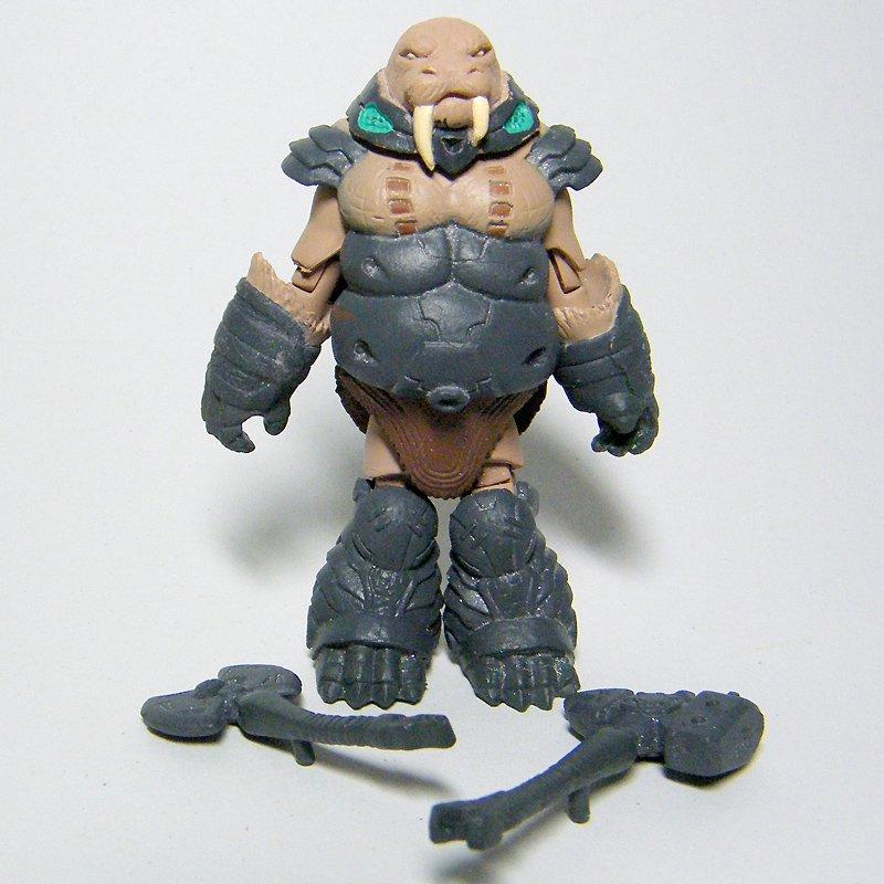 Minimates Battle Beasts GRUNTOS Walrus Loose Figure Series 1