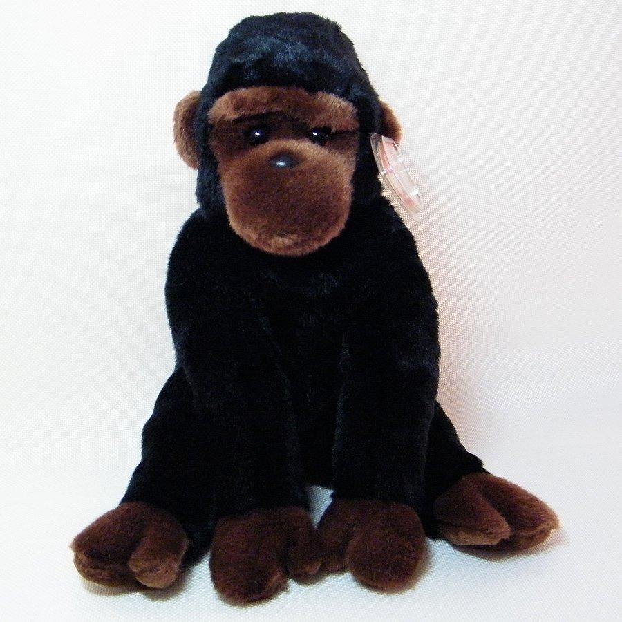 Ty Beanie Buddies CONGO Gorilla Inspired by George NWT 1999 Retired