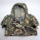 Build A Bear NAVY SEALS HOODIE with Metallic Gold Paint Ball Splatter Military Top