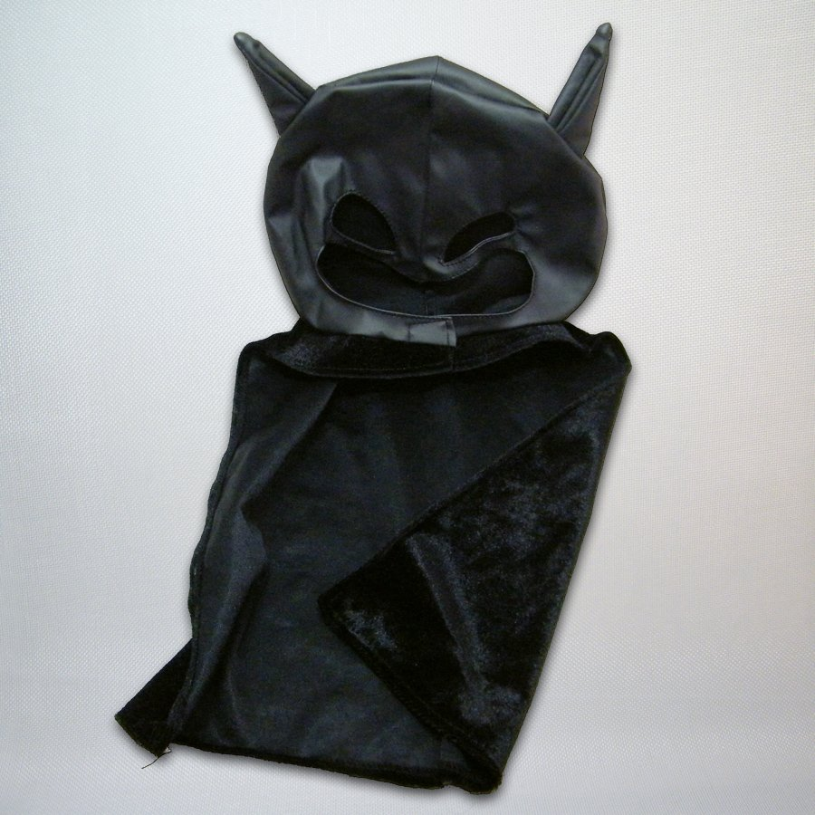 Build A Bear Rebirth BATMAN Mask and Cape Replacement