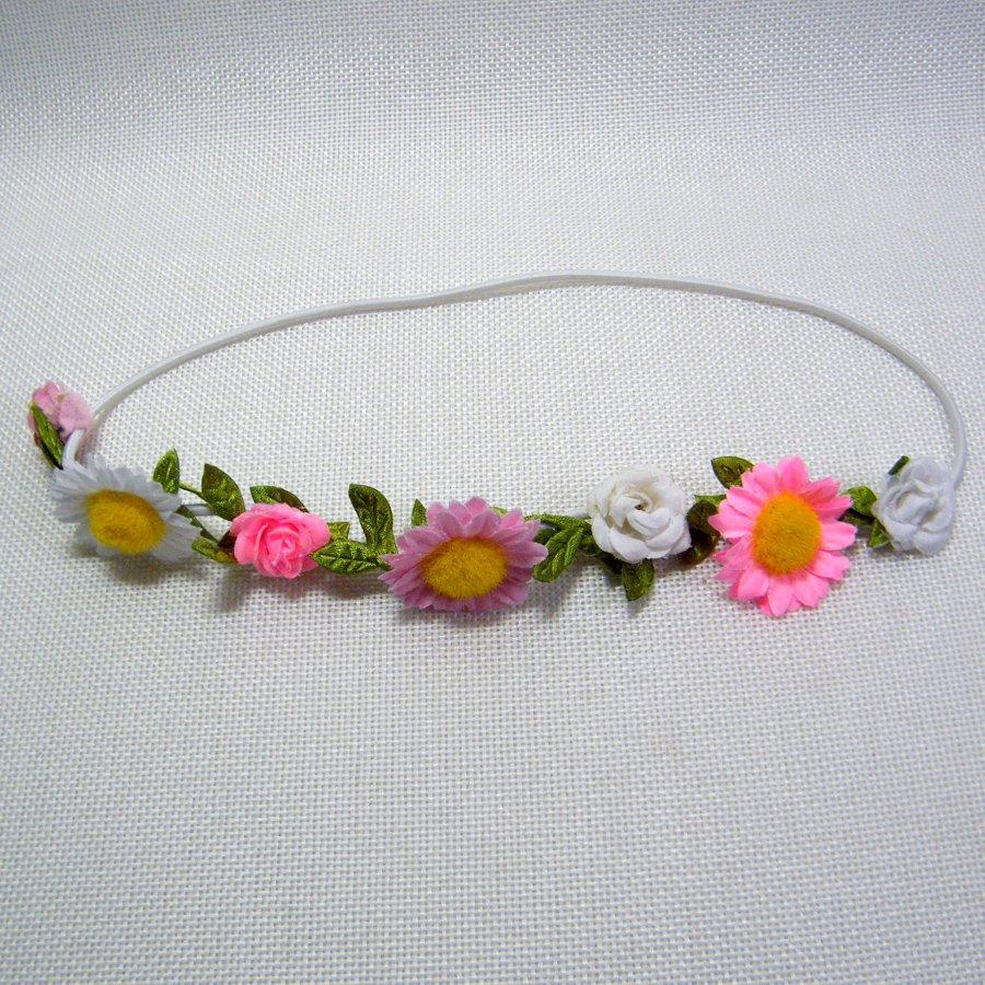 Build A Bear FLOWERS Head Band Flower Power!