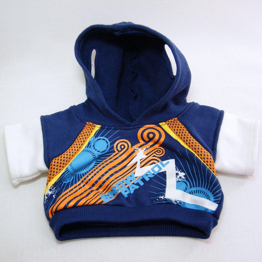 Build A Bear SNOW PATROL Jacket Hoodie