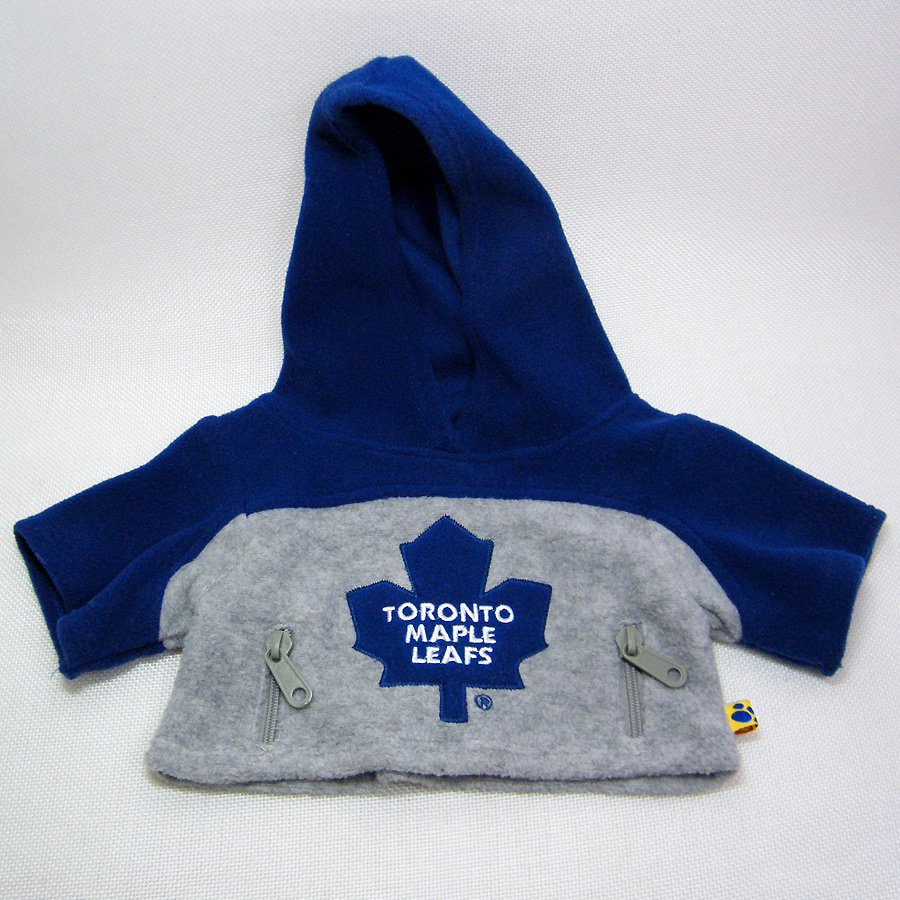Build A Bear TORONTO MAPLE LEAFS Hoodie Jacket - Leafs Nation!