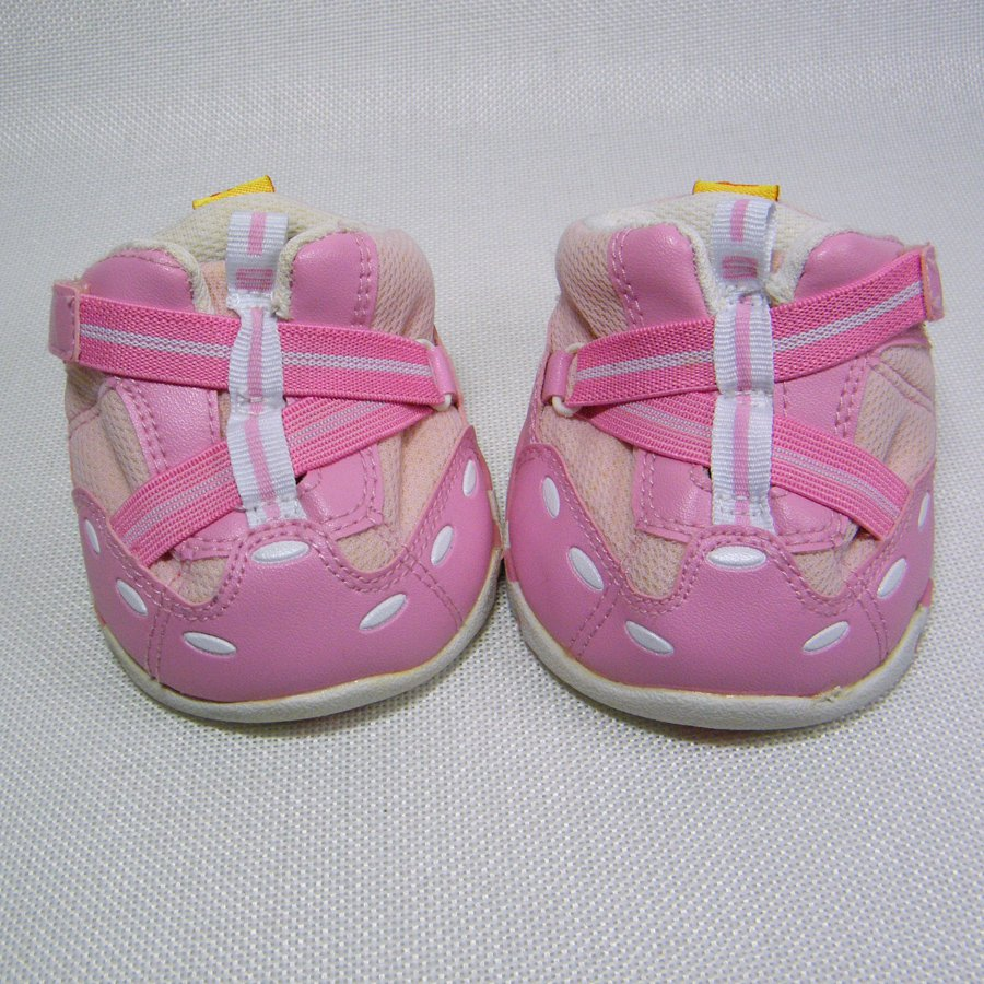 Build A Bear SKECHERS PINK Sneakers, Side Tab Enclosures Running Shoes