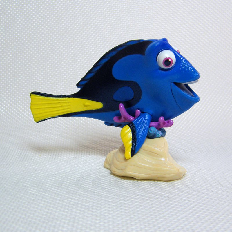 Finding Nemo DORY Blue Tang Fish PVC Figurine Cake Topper Figure Disney