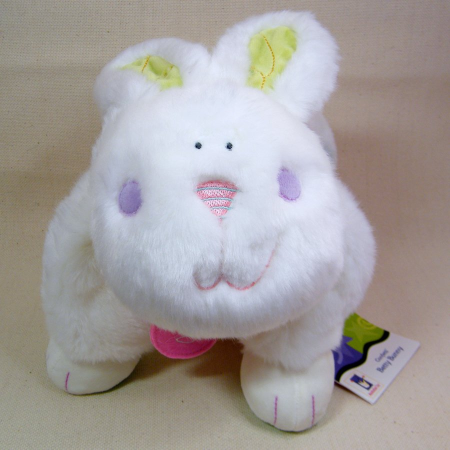 Manhattan Toy CONFETTI BETTY BUNNY Rabbit Soft Plush Baby Pillow Comforter Lovey