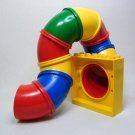 Lego DUPLO Playground Tubes Tunnel Slide Red Blue Green Yellow VTG Parts
