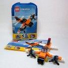 LEGO Creator 5762 MINI PLANE - 3 in 1 - 52 Pieces Retired - EUC Audited
