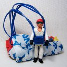 Fisher Price Adventure People DAREDEVIL SKYDIVER with Parachute 1976