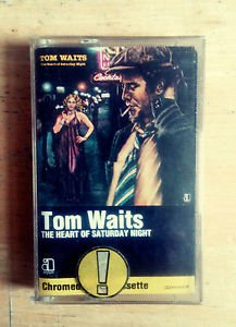 Tom Waits - The Heart of Saturday Night - Cassette Audio vintage