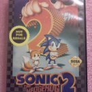 Sonic the Hedgehog 2 Sega Genesis, 1992**FREE US Shipping**