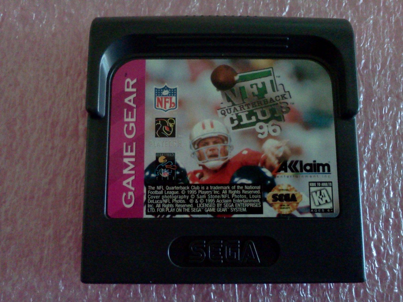 NFL Quarterback Club 96 Sega Game Gear, 1995**FREE US Shipping**