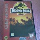 Jurassic Park Sega Genesis, 1993**FREE US Shipping**