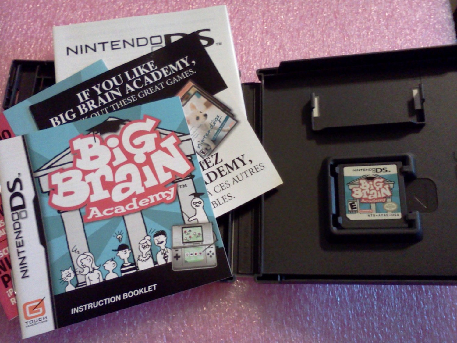Big Brain Academy (Nintendo DS, 2006) Complete**FREE US Shipping**