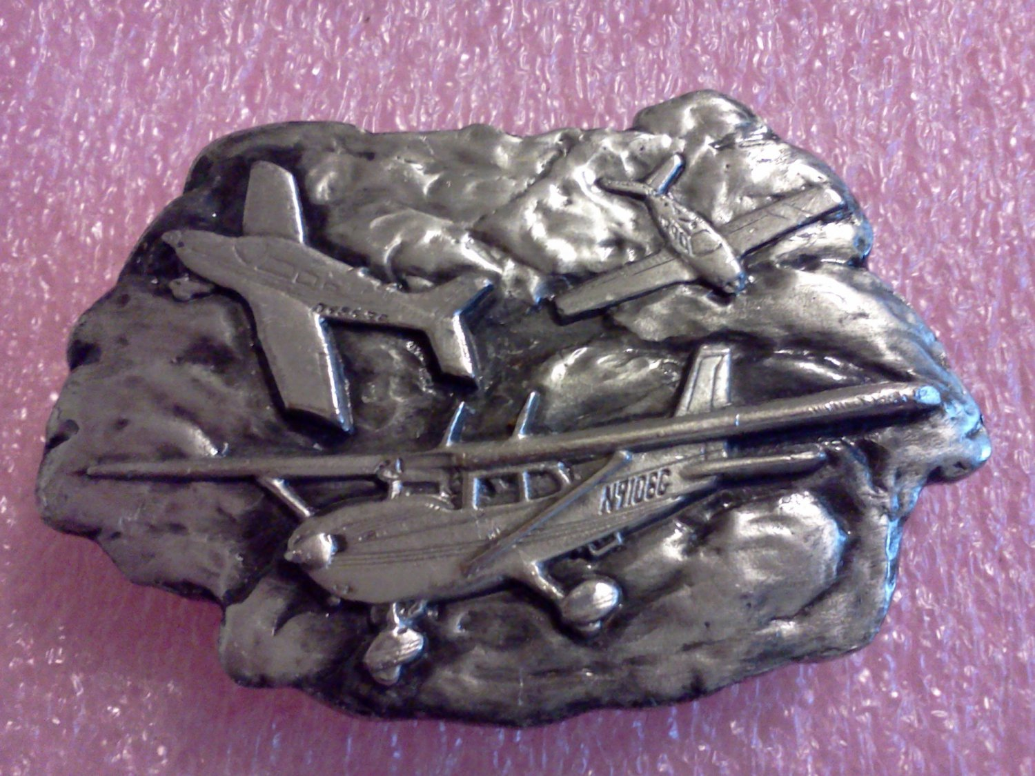 Bergamont Brass works Belt Buckle**FREE US Shipping**