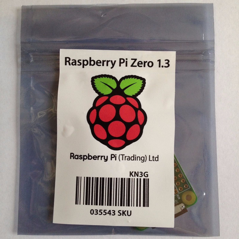 Brand New Raspberry Pi Zero Version 1.3 (Camera Version)