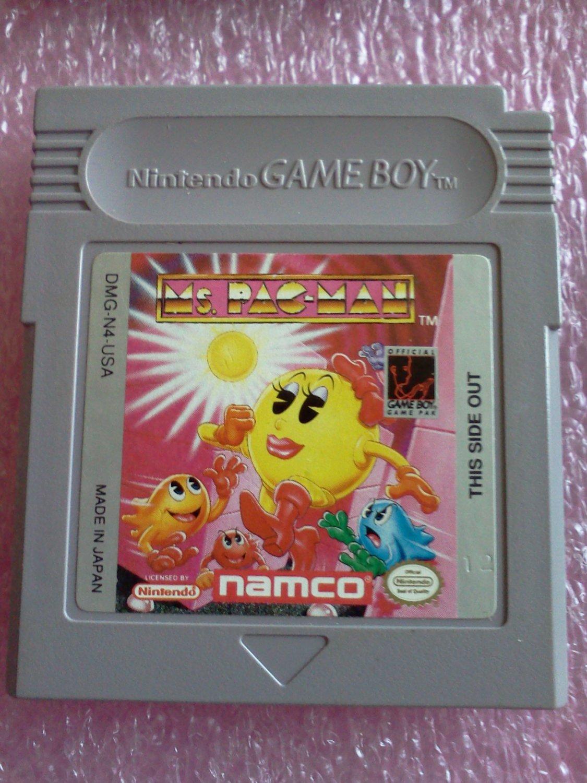 Ms. Pac-Man (Nintendo Game Boy, 1993)