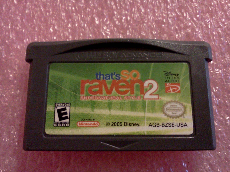 That's So Raven 2: Supernatural Style (Nintendo Game Boy Advance, 2005)