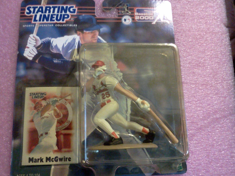 Starting Lineup MLB Mark McGuire Figure With Shinguard St Louis Cardinals NIB