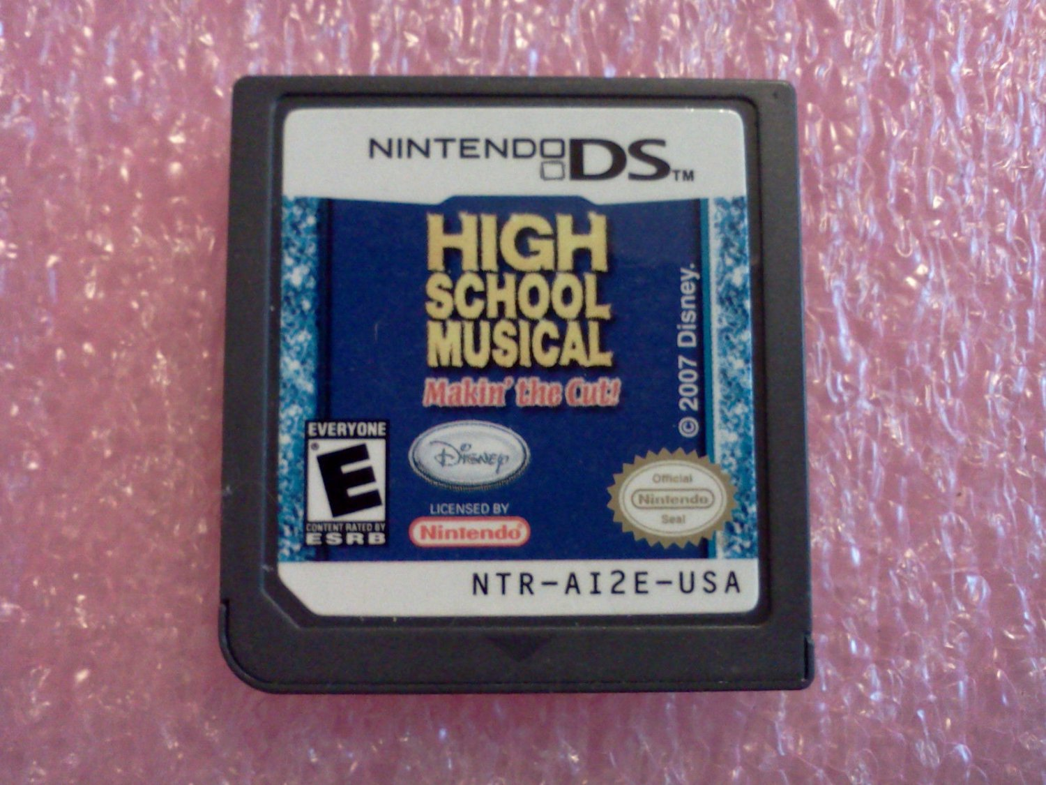 High School Musical: Makin' the Cut (Nintendo DS, 2007)