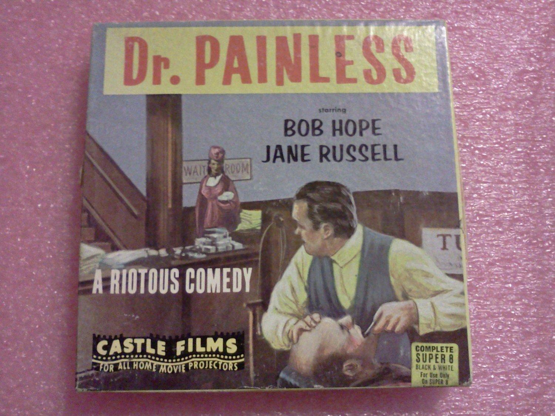 VINTAGE CASTLE FILMS SUPER 8 ~8mm MOVIE DR. PAINLESS