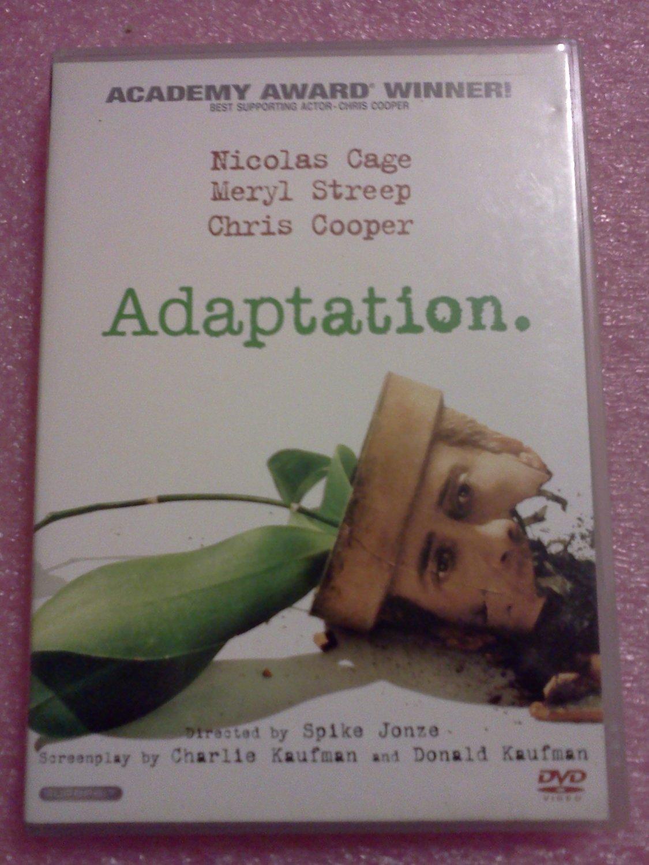 Adaptation DVD, 2003, DVD Nicolas Cage