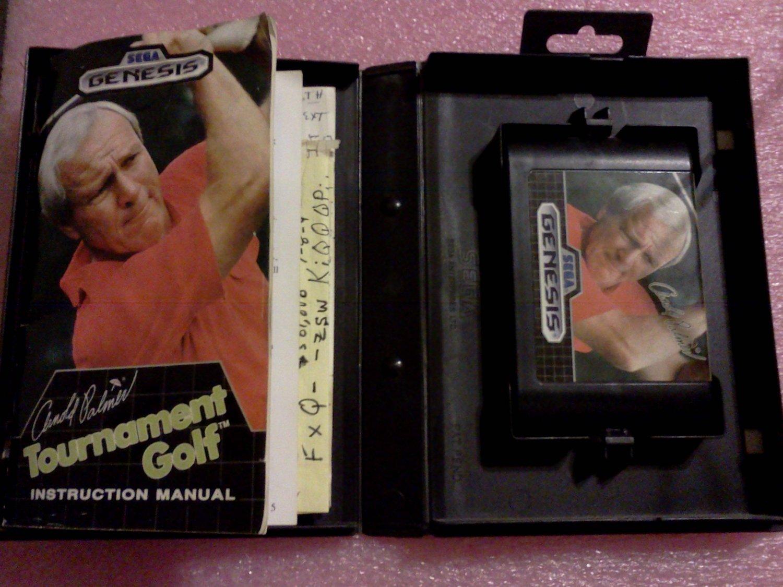 Arnold Palmer Tournament Golf (Sega Genesis, 1989)