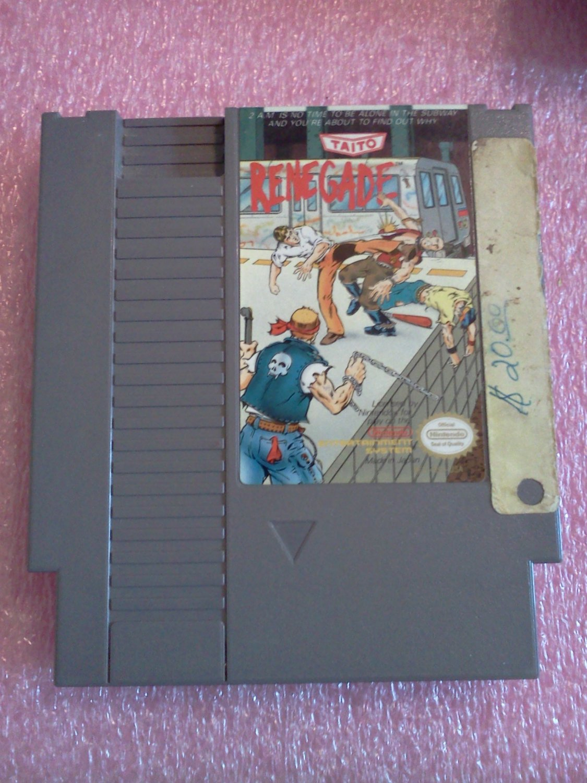 Renegade (Nintendo Entertainment System, 1988)
