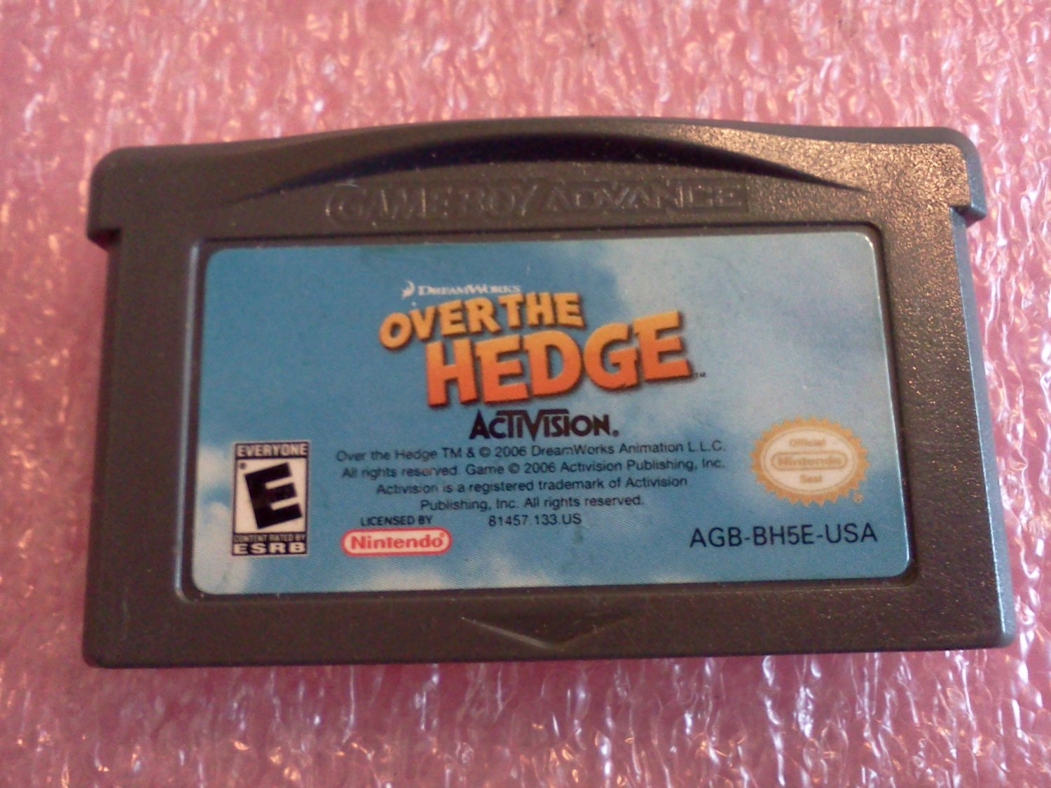 Over the Hedge (Nintendo Game Boy Advance, 2006)