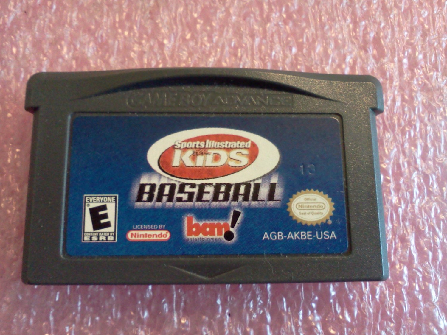 Sports Illustrated for Kids Baseball (Nintendo Game Boy Advance, 2001)