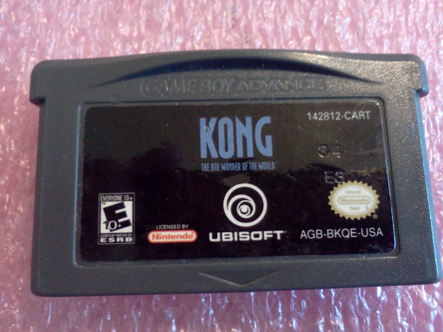 Kong: The 8th Wonder of the World (Nintendo Game Boy Advance, 2005)