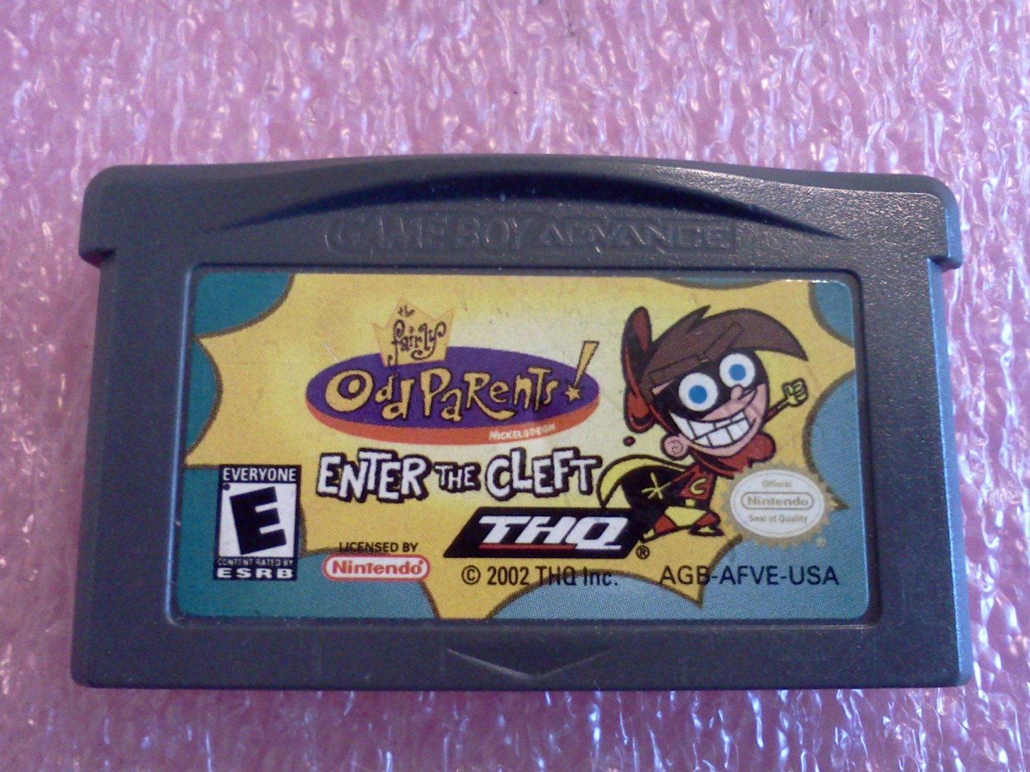 Fairly OddParents: Enter the Cleft (Nintendo Game Boy Advance, 2002)