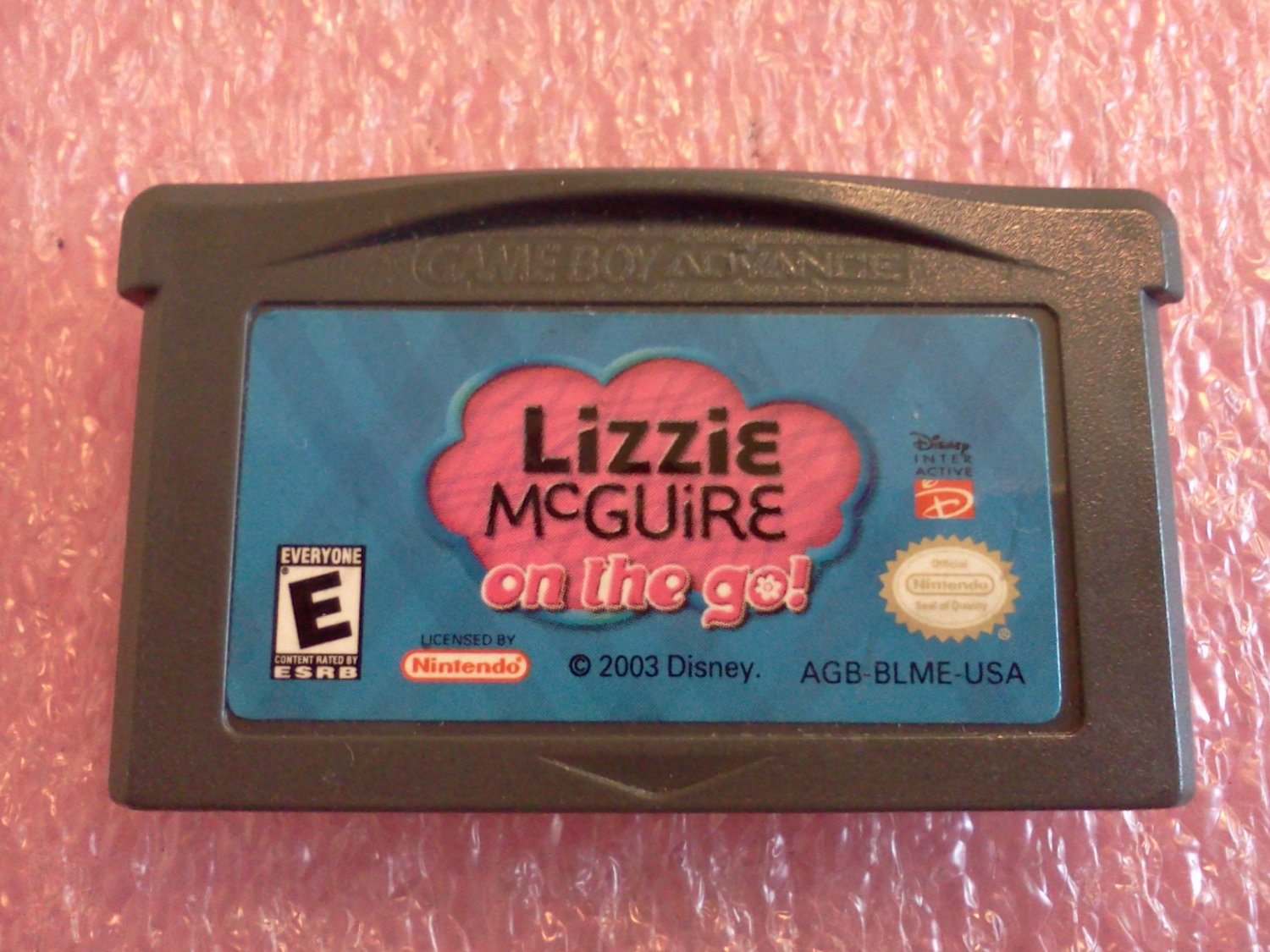 Lizzie McGuire: On the Go (Nintendo Game Boy Advance, 2003)