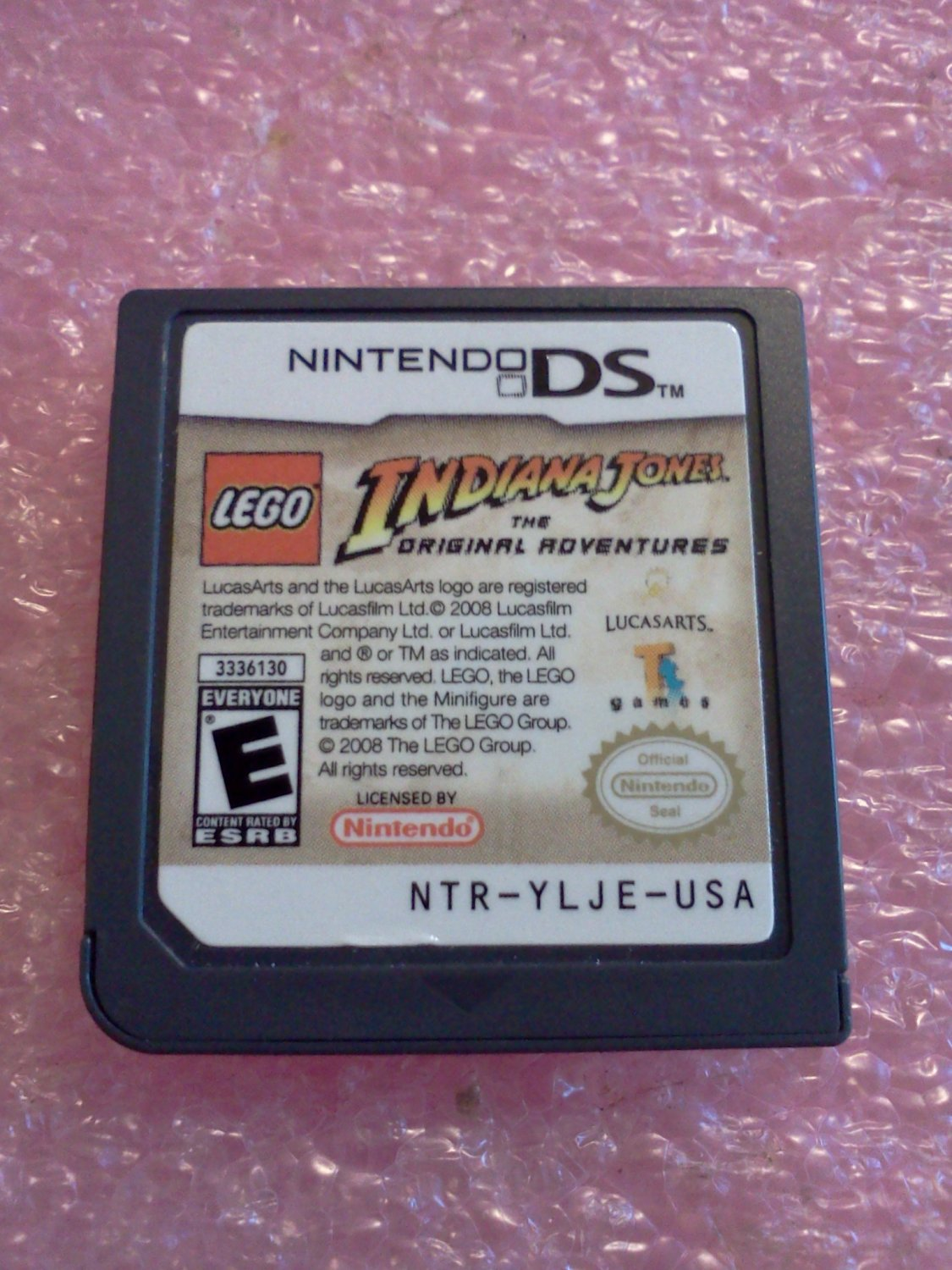 LEGO Indiana Jones: The Original Adventures (Nintendo DS, 2008)