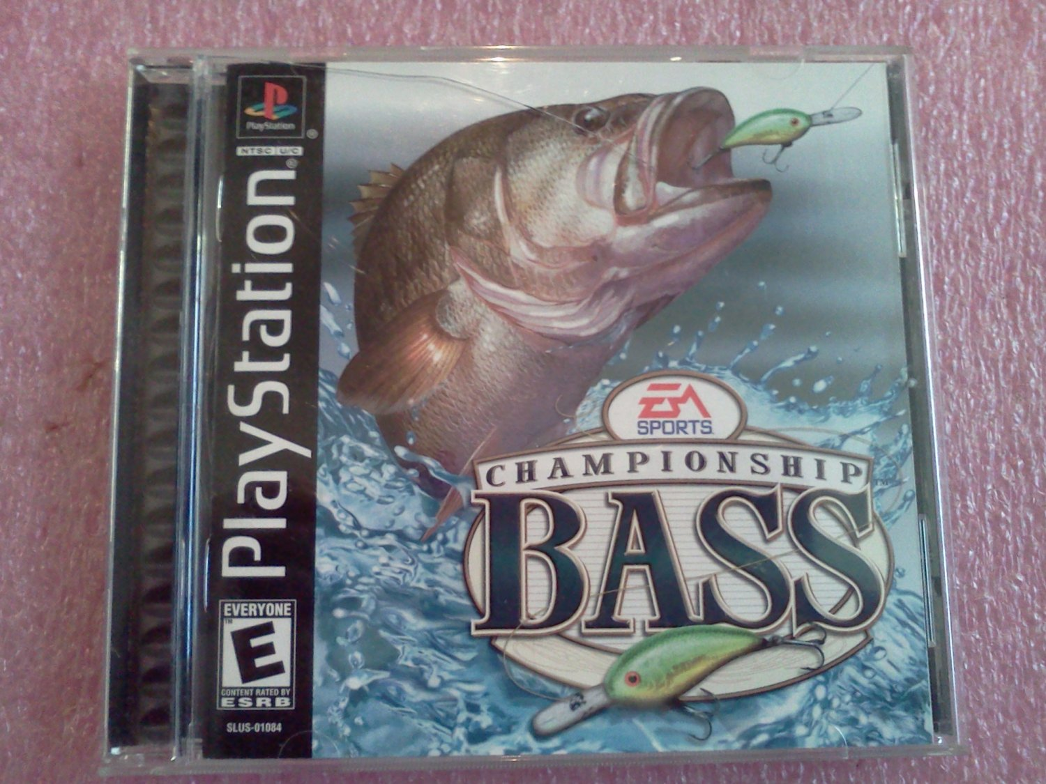 Championship Bass (Sony PlayStation 1, 2000 )PS1