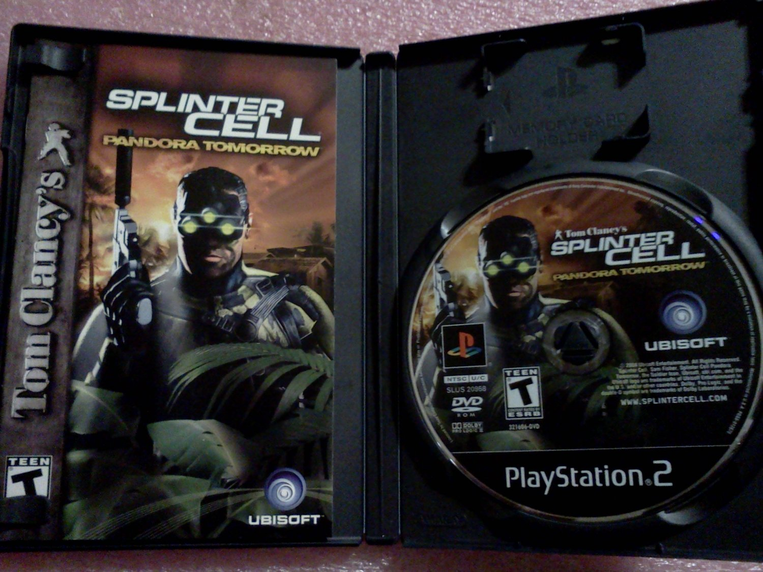 Tom Clancy's Splinter Cell: Pandora Tomorrow (Sony PlayStation 2, 2004)