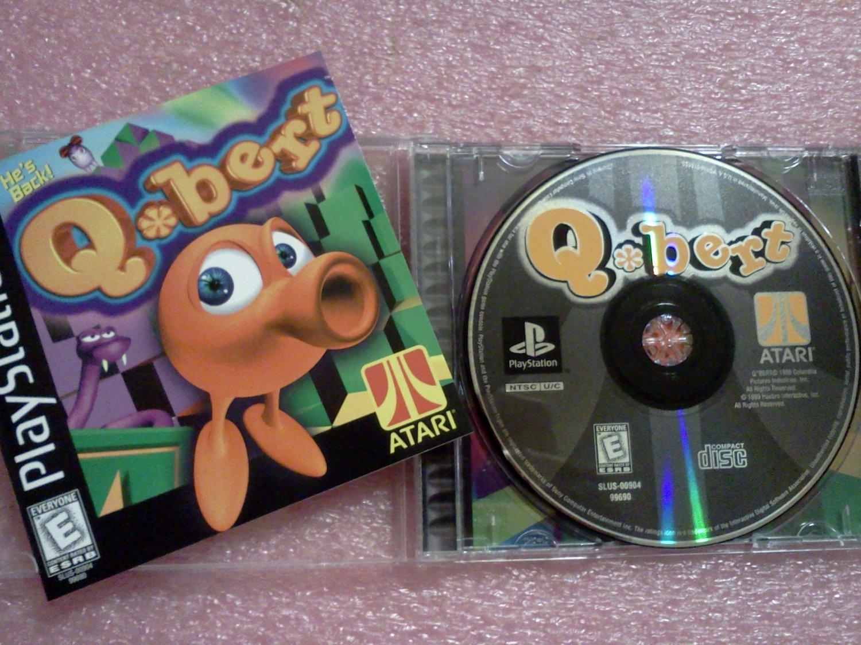 Q*bert Qbert (Sony PlayStation 1, 1999) PS1