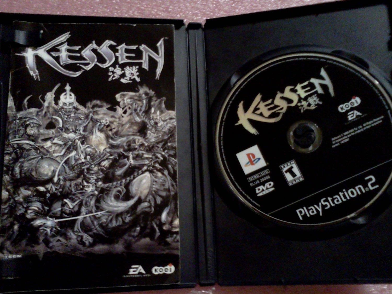 Kessen (Sony PlayStation 2, 2000) PS2