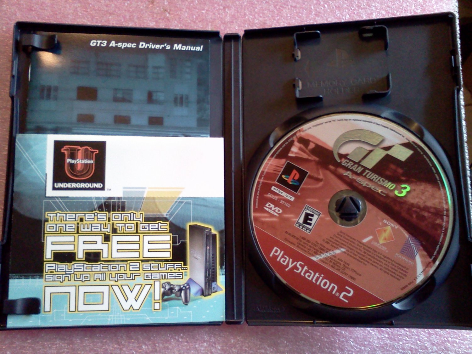Gran Turismo 3 A-spec (Sony PlayStation 2, 2002) PS2