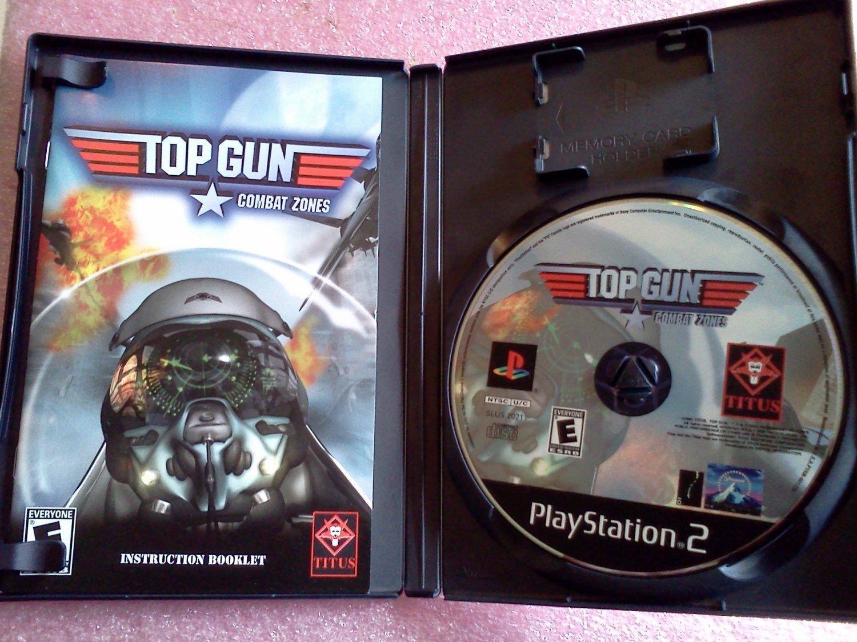 Top Gun: Combat Zones (Sony PlayStation 2, 2001) PS2