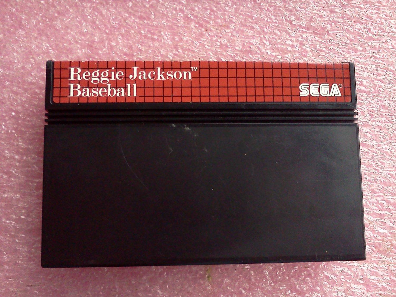 Reggie Jackson Baseball (Sega Master System 1988)