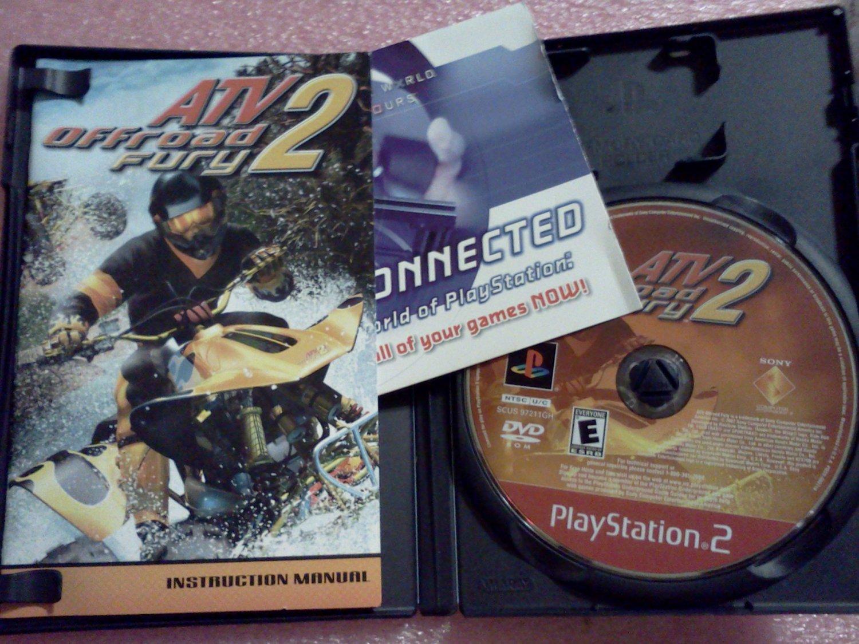 ATV Offroad Fury 2 (Sony PlayStation 2, 2002) PS2