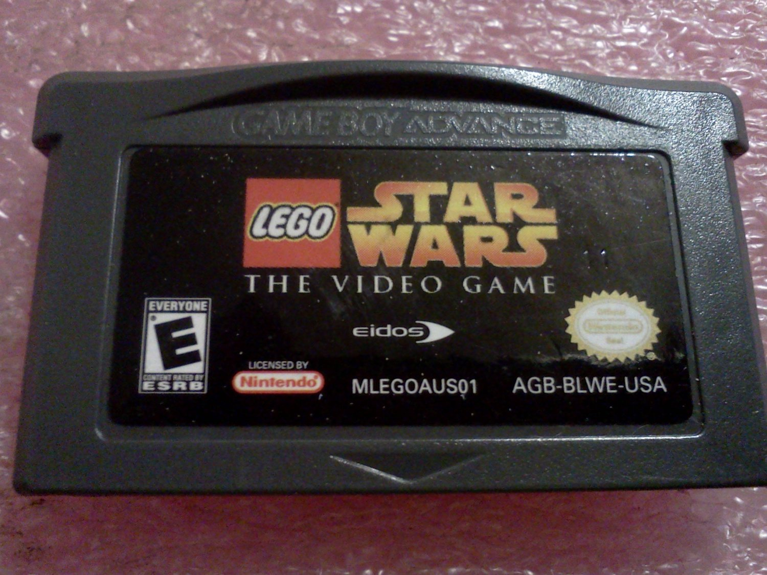 LEGO Star Wars: The Video Game (Nintendo Game Boy Advance, 2005)